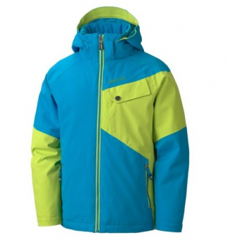 Marmot MRT 70030.2578-XS Куртка детская Boy Mantra Jacket blue-green р.XS