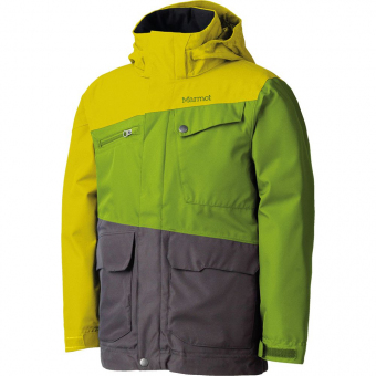 Marmot MRT 73360.4435-XS Куртка детская Boy Space Walk Jacket green yellow р.XS