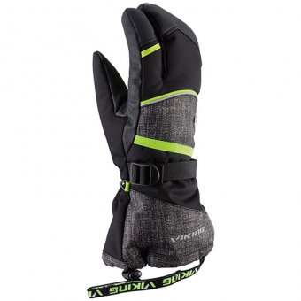 Viking VKG 166-19-0297 Перчатки мужские Soren Lobster zz lime-grey р.10
