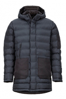 Marmot MRT 74890.001-M Куртка мужская Alassian Featherless Parka black р.M